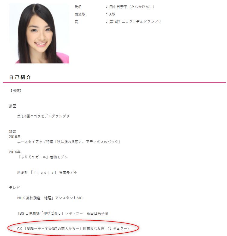伊藤健太郎昼顔キスシーンは田中日奈子と2話